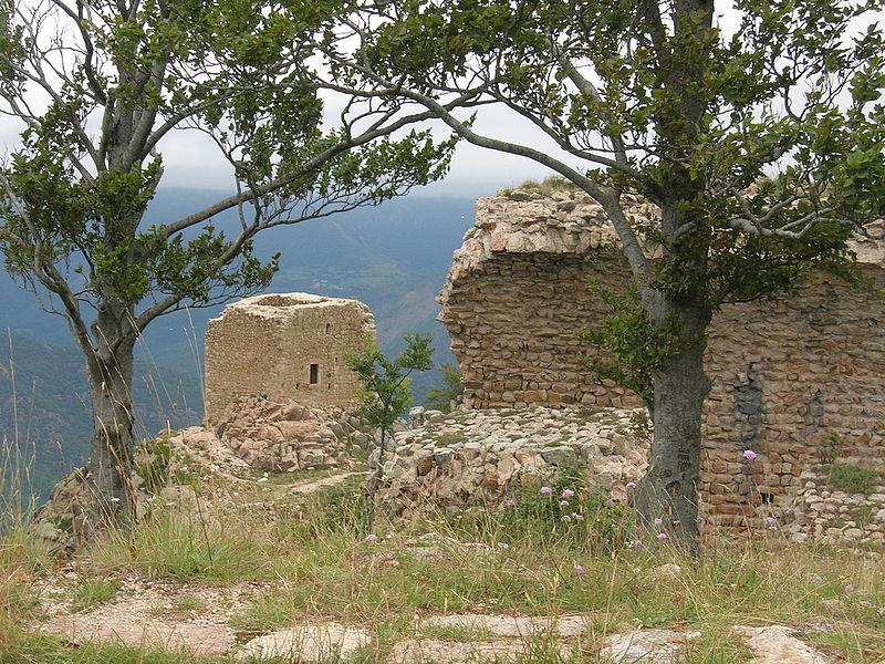 Photo du Monument Historique Tours de Cabrenc (également sur commune de Lamanère) situé à Serralongue