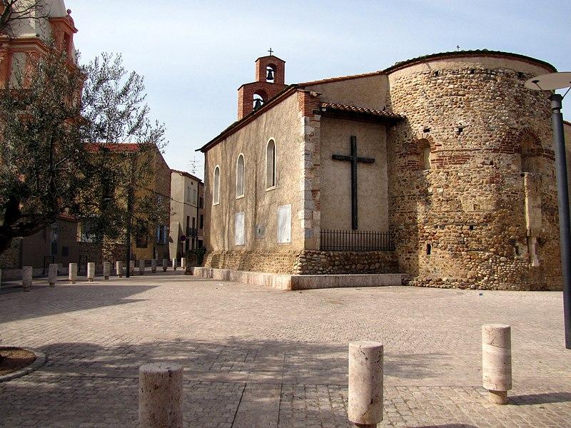 Photo du Monument Historique Eglise de l'Assomption de la Vierge situé à Toulouges