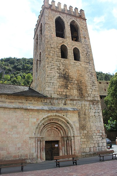 Photo du Monument Historique Eglise Saint-Jacques situé à Villefranche-de-Conflent