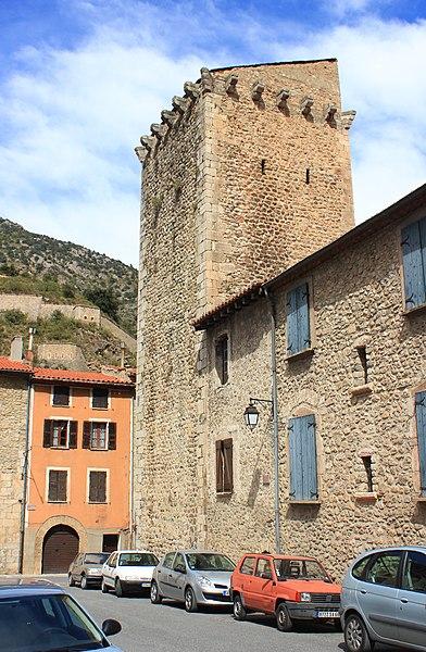 Photo du Monument Historique Ancien hôpital situé à Villefranche-de-Conflent