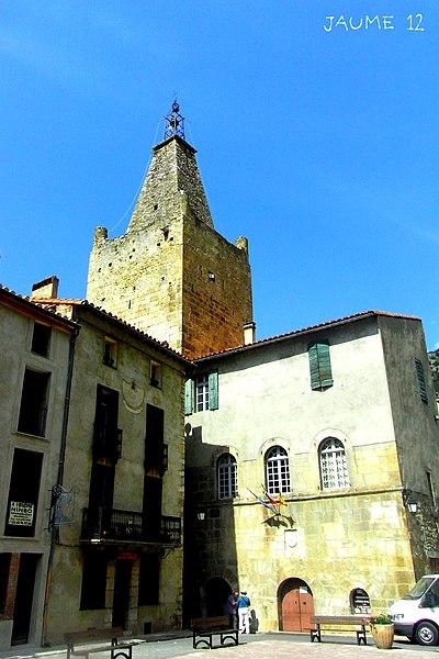 Photo du Monument Historique Ancien hôtel de ville situé à Villefranche-de-Conflent