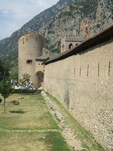 Photo du Monument Historique Remparts de la ville situé à Villefranche-de-Conflent