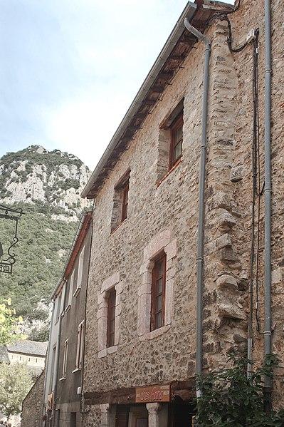 Photo du Monument Historique Maison Alazet situé à Villefranche-de-Conflent