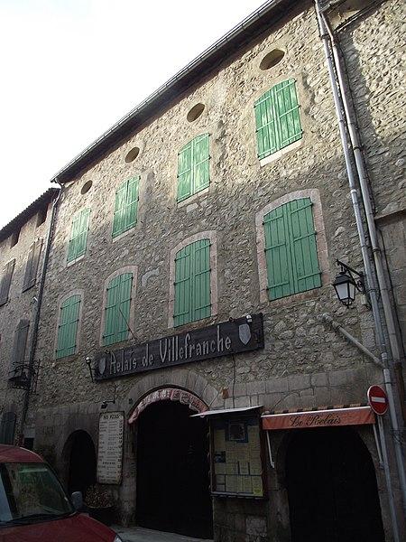 Photo du Monument Historique Maison Berjoan Pierre situé à Villefranche-de-Conflent