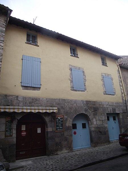 Photo du Monument Historique Maison Deixonne situé à Villefranche-de-Conflent