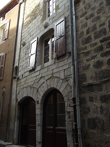 Photo du Monument Historique Maison Durand Raoul situé à Villefranche-de-Conflent