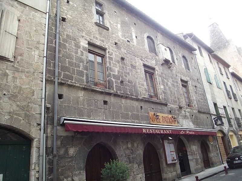 Photo du Monument Historique Maison Laporte situé à Villefranche-de-Conflent
