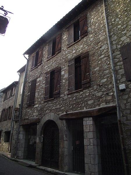 Photo du Monument Historique Maison Marty Jacques situé à Villefranche-de-Conflent