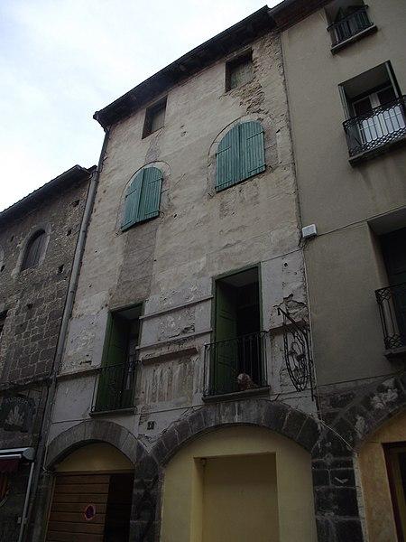 Photo du Monument Historique Maison Masdeu situé à Villefranche-de-Conflent