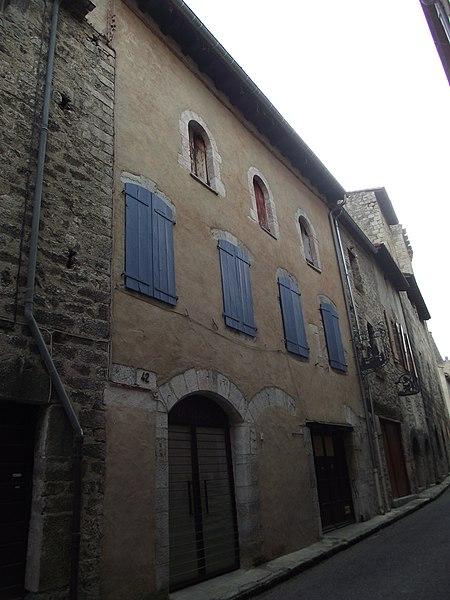 Photo du Monument Historique Maison Maury Emile situé à Villefranche-de-Conflent