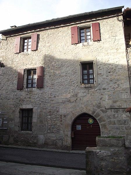 Photo du Monument Historique Maison Verges Jacques situé à Villefranche-de-Conflent