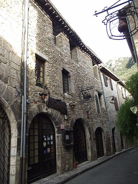 Photo du Monument Historique Maison Verges Pierre situé à Villefranche-de-Conflent