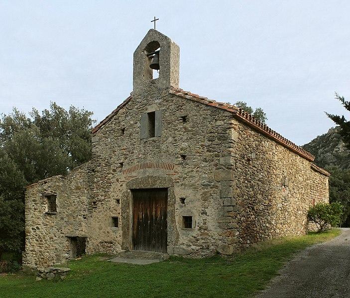 Photo du Monument Historique Eglise Saint-Alexandre-de-la-Pava situé à Argelès-sur-Mer