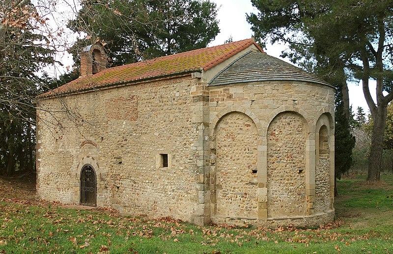 Photo du Monument Historique Chapelle Saint-Etienne-de-Villerase situé à Saint-Cyprien