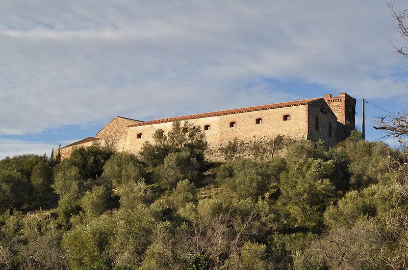 Photo du Monument Historique Ancien château, dit Mas de Las Fons situé à Calce