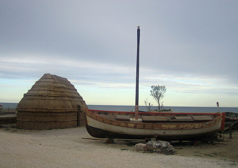 Photo du Monument Historique Cabane de pêcheur situé à Le Barcarès