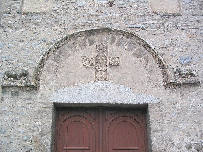 Photo du Monument Historique Eglise Santa Creu (ou Sainte-Croix) situé à Arles-sur-Tech