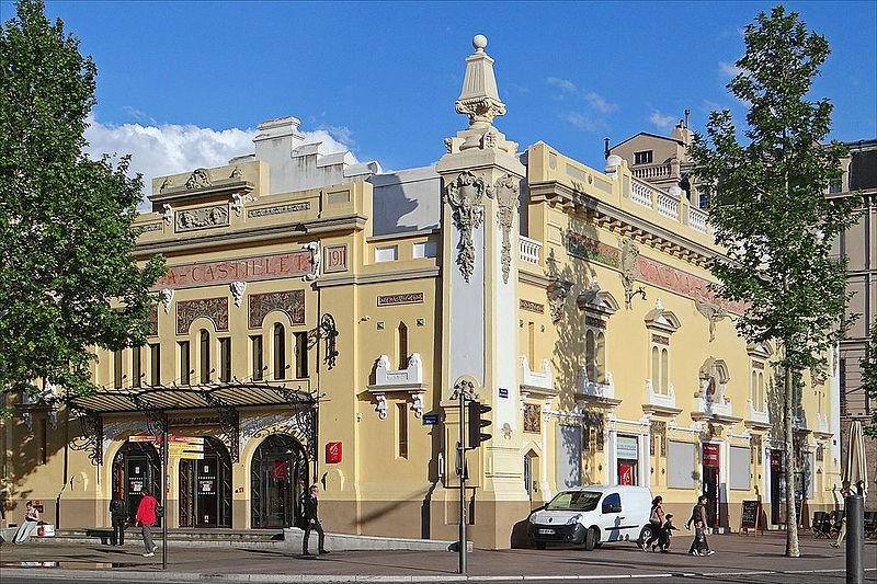 """Photo du Monument Historique Cinéma """"Castillet"""" situé à Perpignan"""