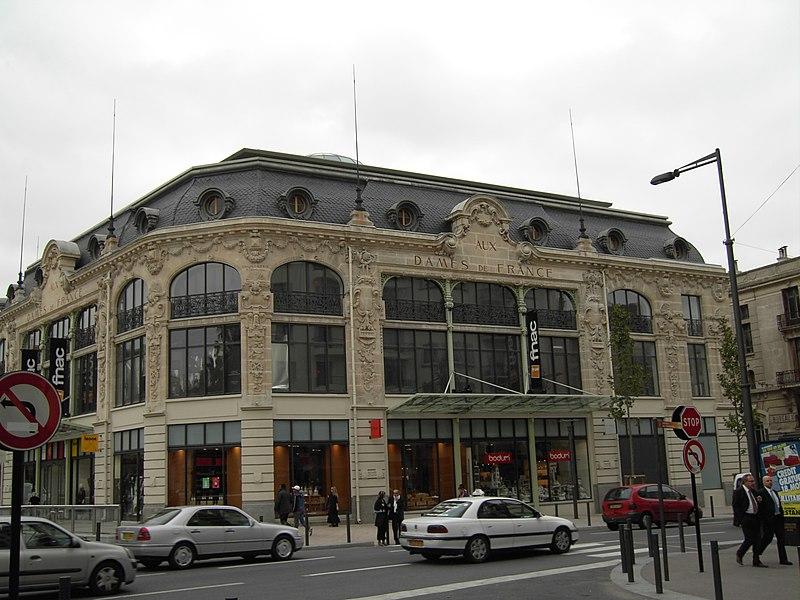 Photo du Monument Historique Ancien magasin Aux Dames de France situé à Perpignan