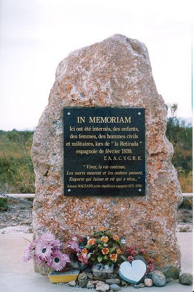 Photo du Monument Historique Camp Joffre, dit Camp de Rivesaltes situé à Salses-le-Château