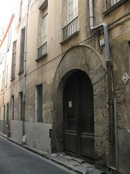 Photo du Monument Historique Immeuble situé à Perpignan