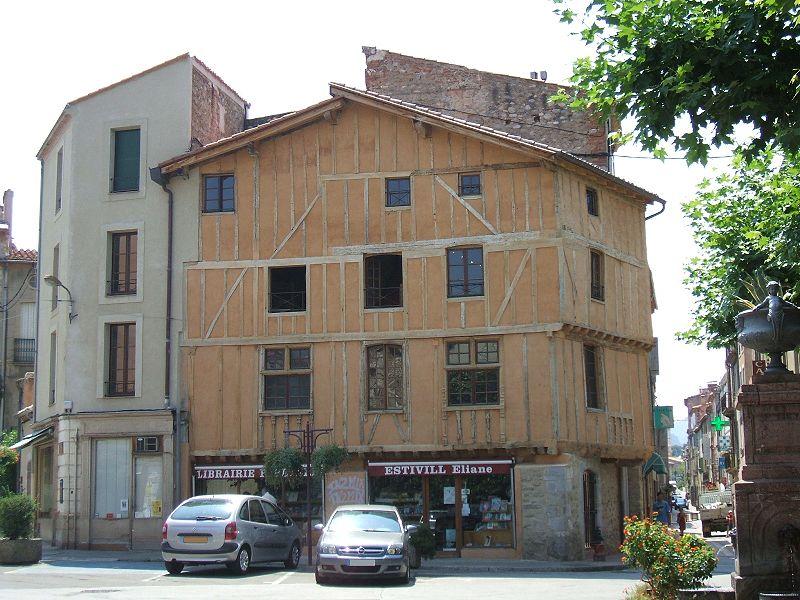 Photo du Monument Historique Maison Jourda (maison Jacomet) situé à Prades