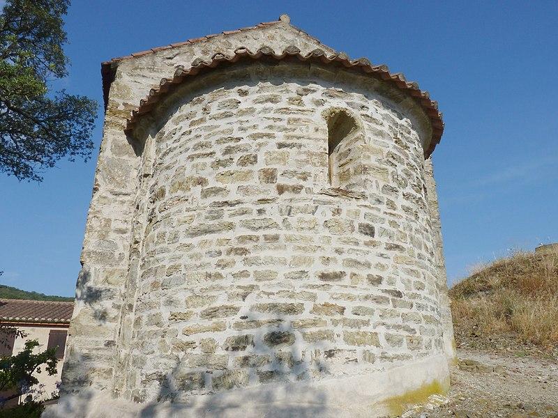 Photo du Monument Historique Chapelle Notre-Dame del Roure, située au hameau de la Roure situé à Taillet