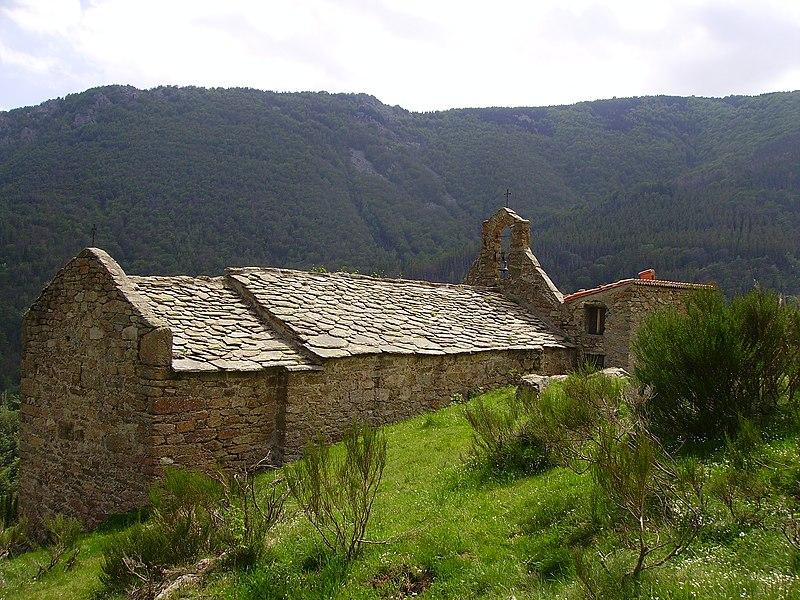 Photo du Monument Historique Ermitage Saint-Guilhem de Combret situé à Tech (Le)