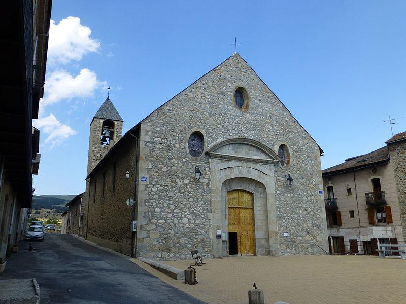 Photo du Monument Historique Eglise paroissiale Saint-Louis, située dans la ville situé à Mont-Louis