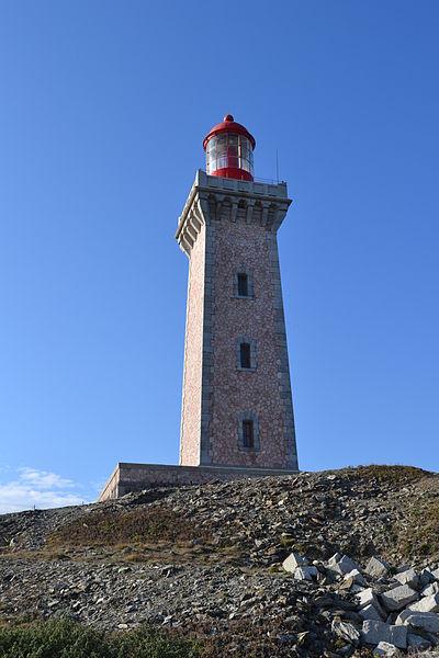 Photo du Monument Historique Phare du Cap Béar, situé à la pointe du Cap Béar situé à Port-Vendres