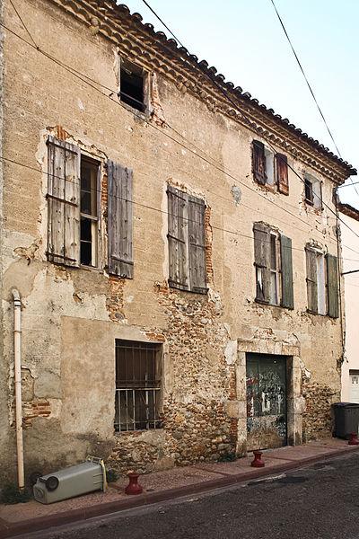 Photo du Monument Historique Maison de maître situé à Millas