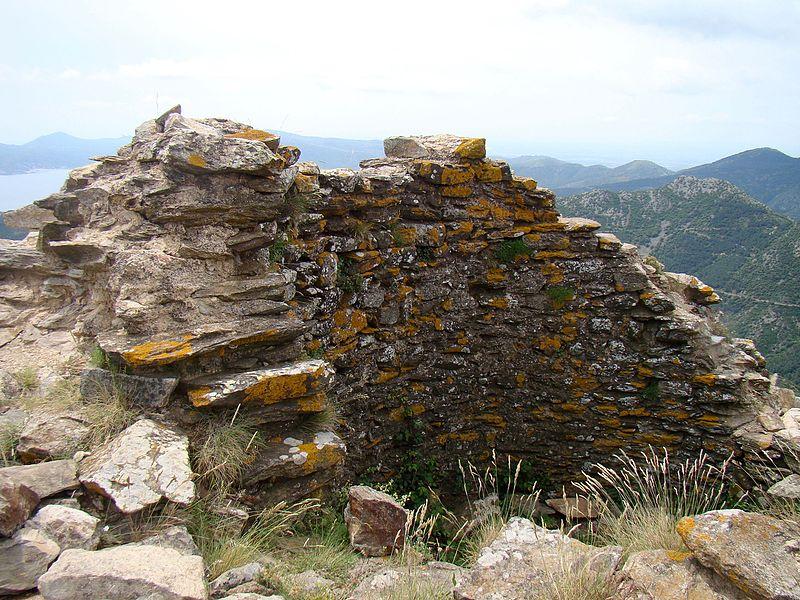 Photo du Monument Historique Château de Querroig situé à Banyuls-sur-Mer ; Cerbère