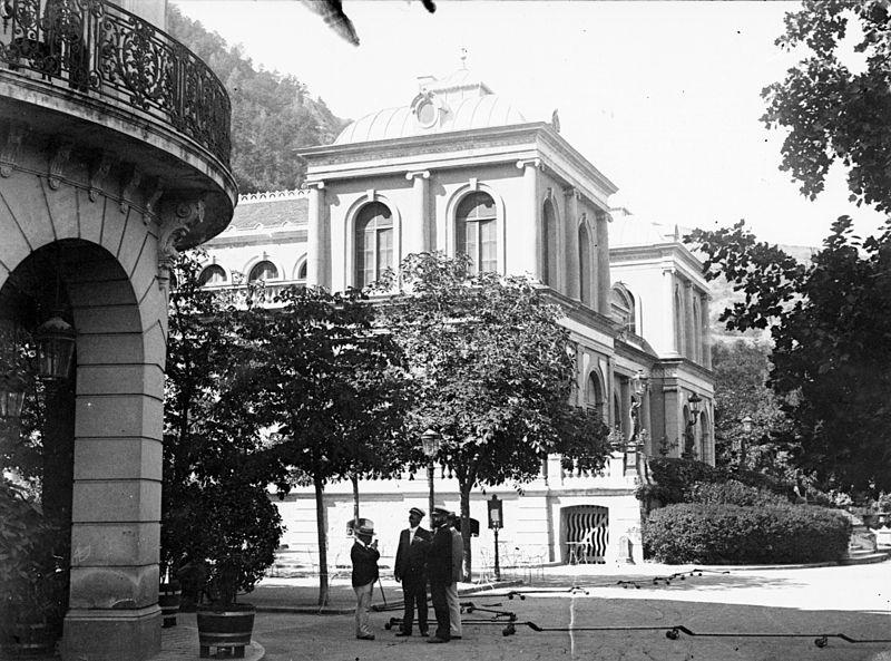 Photo du Monument Historique Casino situé à Vernet-les-Bains