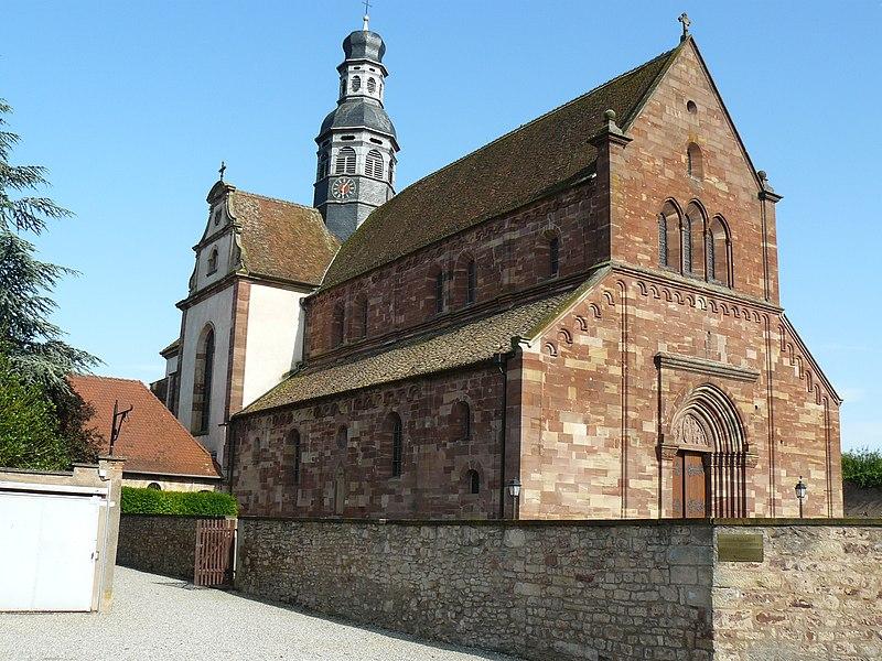 Photo du Monument Historique Abbaye situé à Altorf
