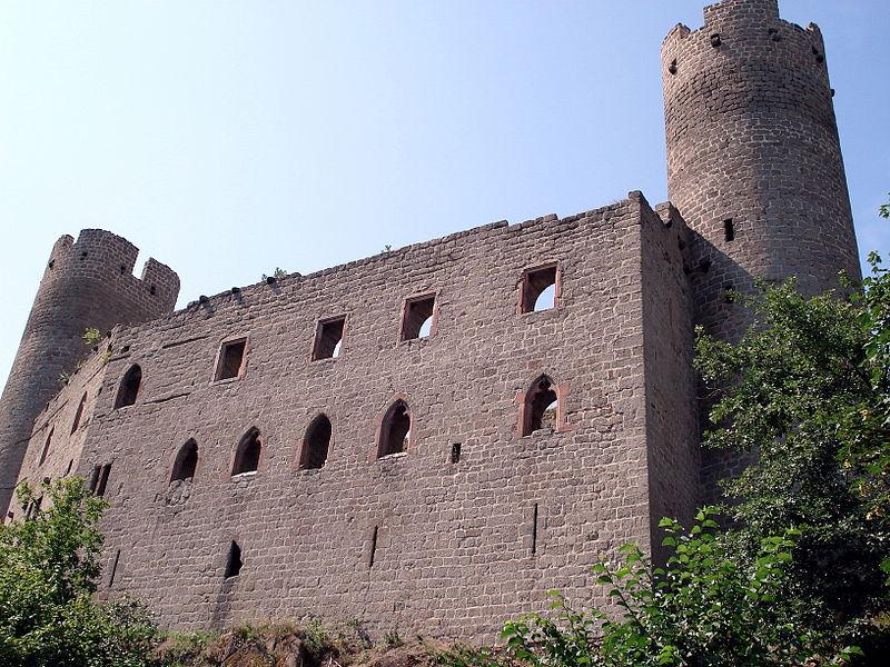 Photo du Monument Historique Ruines du château Haut-Andlau situé à Andlau