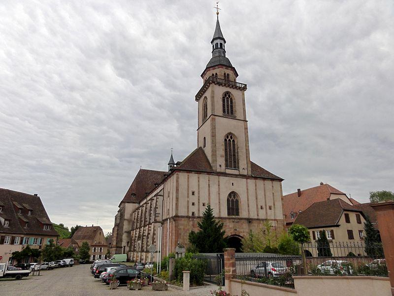 Photo du Monument Historique Eglise Saint-Pierre-et-Paul dite Sainte-Richarde situé à Andlau
