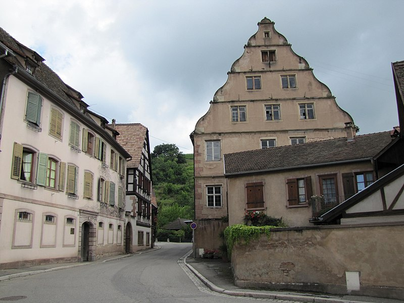 Photo du Monument Historique Ancien Hôtel d'Andlau situé à Andlau