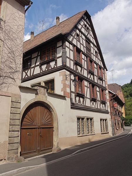 Photo du Monument Historique Maison situé à Andlau