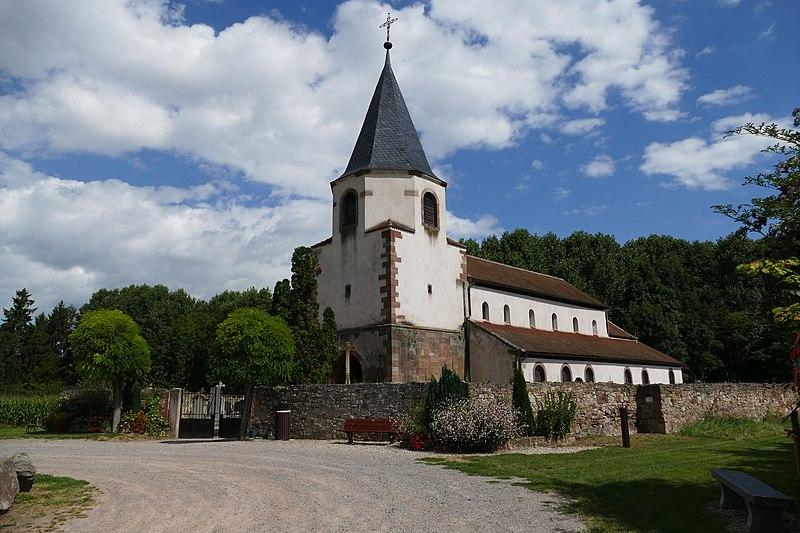 Photo du Monument Historique Eglise Dompeter situé à Avolsheim