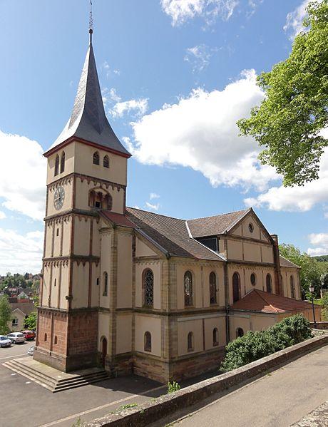 Photo du Monument Historique Eglise protestante situé à Barr