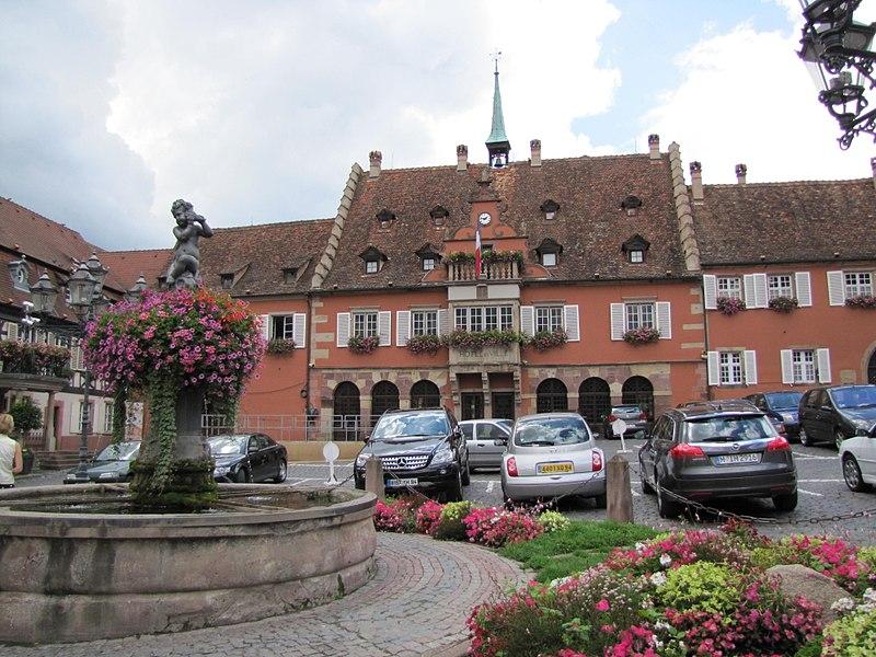 Photo du Monument Historique Hôtel de ville situé à Barr