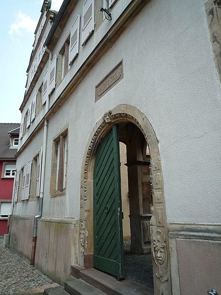 Photo du Monument Historique Hôpital situé à Benfeld