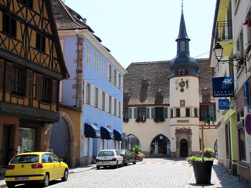 Photo du Monument Historique Hôtel de ville situé à Benfeld