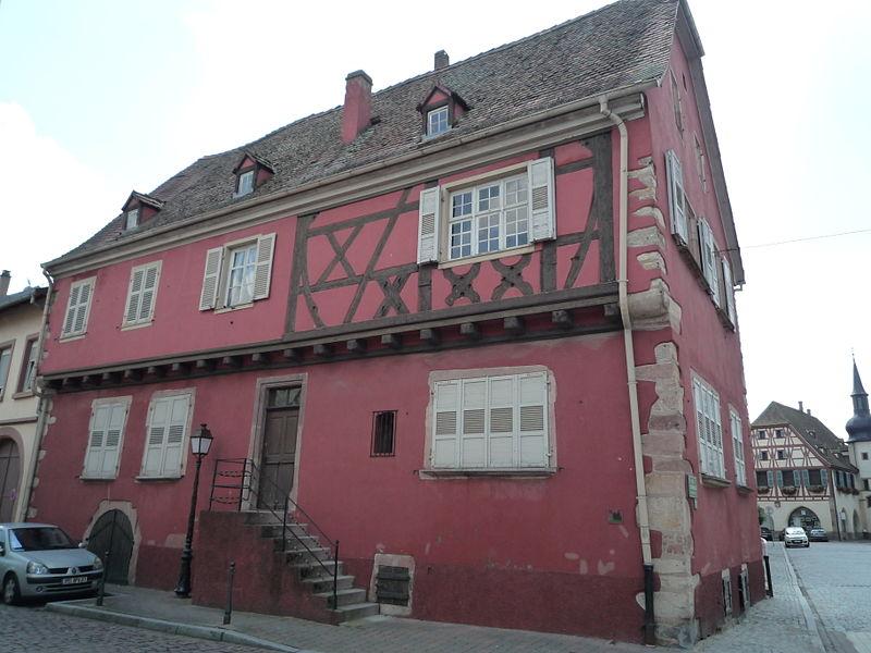Photo du Monument Historique Maison situé à Benfeld