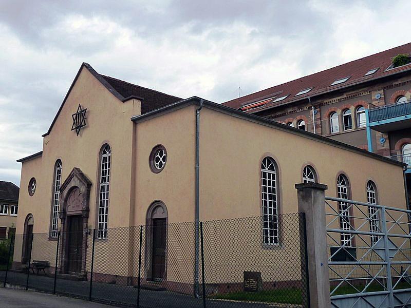 Photo du Monument Historique Synagogue situé à Benfeld