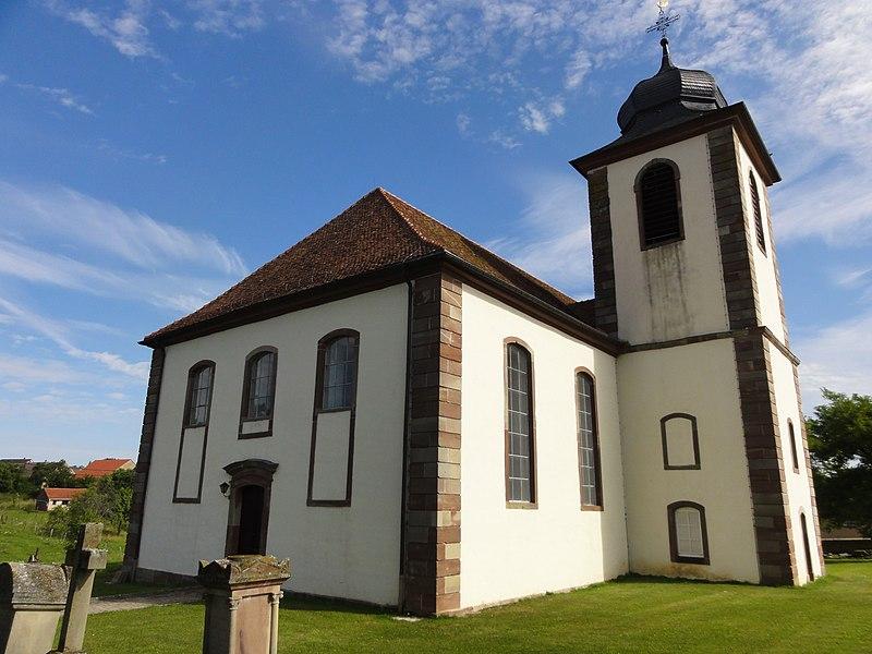 Photo du Monument Historique Eglise protestante situé à Berg