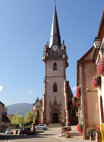 Photo du Monument Historique Eglise catholique Notre-Dame situé à Bernardswiller