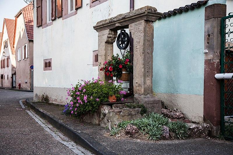 Photo du Monument Historique Puits situé à Bernardswiller