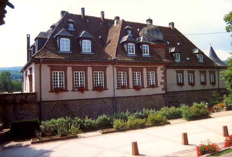 Photo du Monument Historique Château situé à Birkenwald