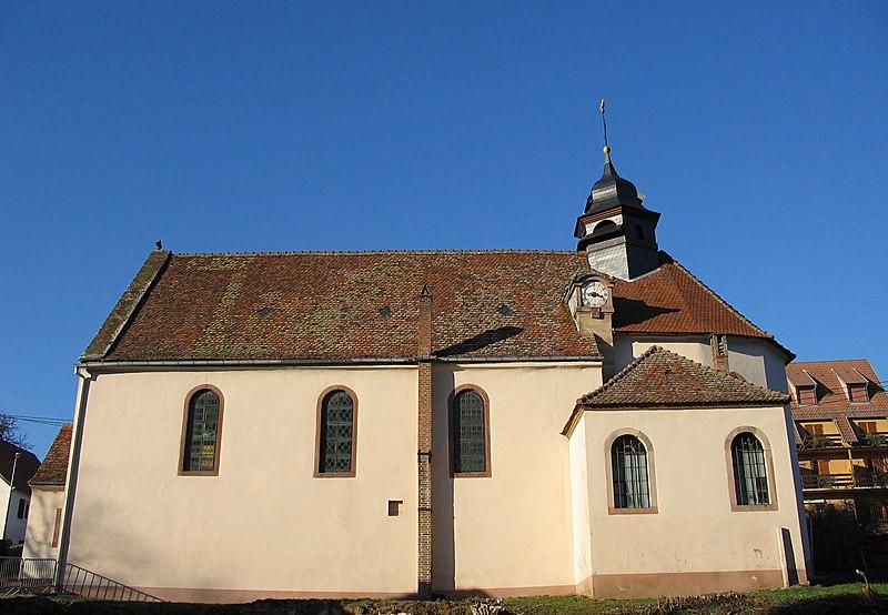 Photo du Monument Historique Eglise catholique Saint-Louis situé à Birkenwald